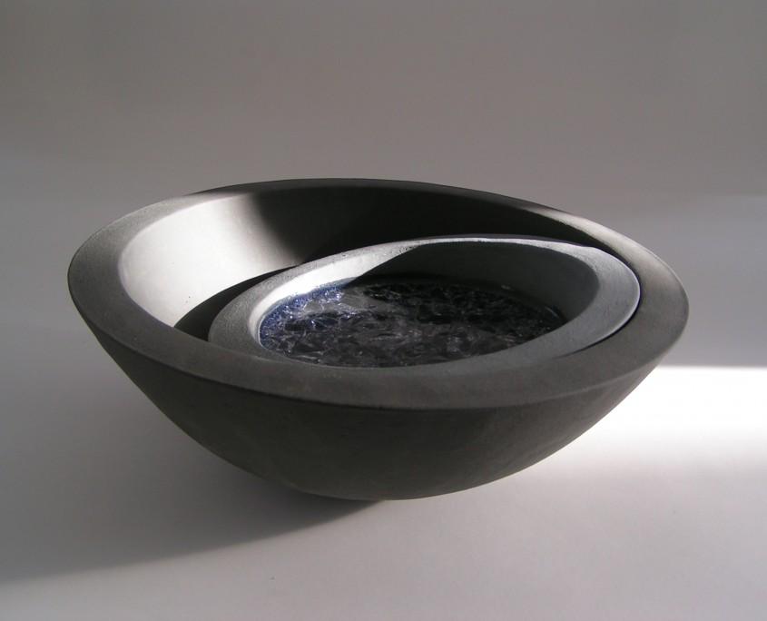 Aikido 1 26x9cm Ton, Kristallglas 2014
